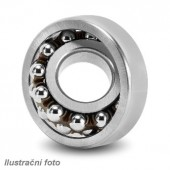Kuličkové naklápěcí ložisko s kuželovou dírou 1204 K C3 20x47x14 mm