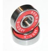 8x22x7 mm  (608-2RS-ABEC5) Kuličkové ložisko Skate, InLine