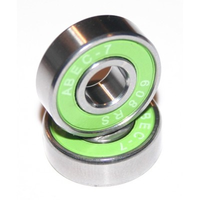 8x22x7 mm (608-2RS-ABEC7)  Kuličkové ložisko Skate, InLine ABEC7