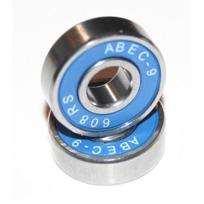 8x22x7 mm (608-2RS-ABEC9) Kuličkové ložisko Skate, InLine  ABEC9