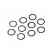 Ocelové podložky 7x12x0.3mm (10ks)