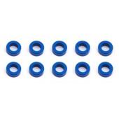 Vymezovací podložky 3x5.5x2.0mm, modré alu, 10 ks.