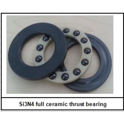 10x18x7 (F10-18M/C) Celo keramické axialní ložisko (Si3N4)