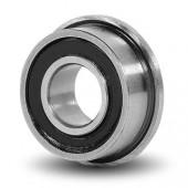 7x17x5 mm (F697-2RS) Kuličkové ložisko Rubber s přírubou