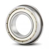 10x22x6 mm (F6900ZZ) Kuličkové ložisko s přírubou Metal