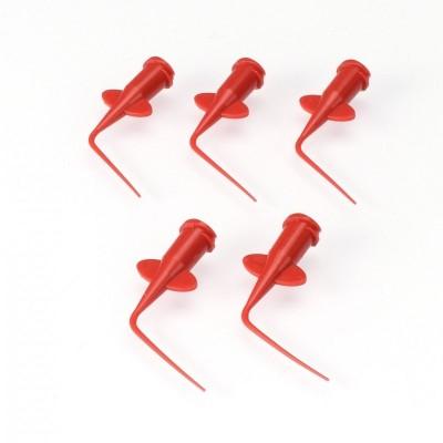 CA aplikační trubičky pro lepení - zahnuté (5 ks.)