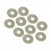 Ocelové podložky 6 x 12 x 0.2mm