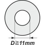 Podložky s vnitřním průměrem od 11mm