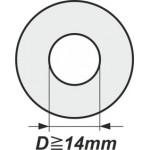 Podložky s vnitřním průměrem od 14mm