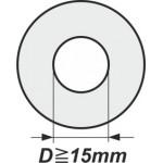 Podložky s vnitřním průměrem od 15mm