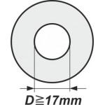 Podložky s vnitřním průměrem od 17mm