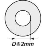 Podložky s vnitřním průměrem od 2mm