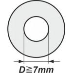 Podložky s vnitřním průměrem od 7mm