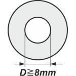 Podložky s vnitřním průměrem od 8mm